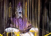 Francis Bacon, Studio del ritratto di Papa Innocenzo X di Velasquez, 1953