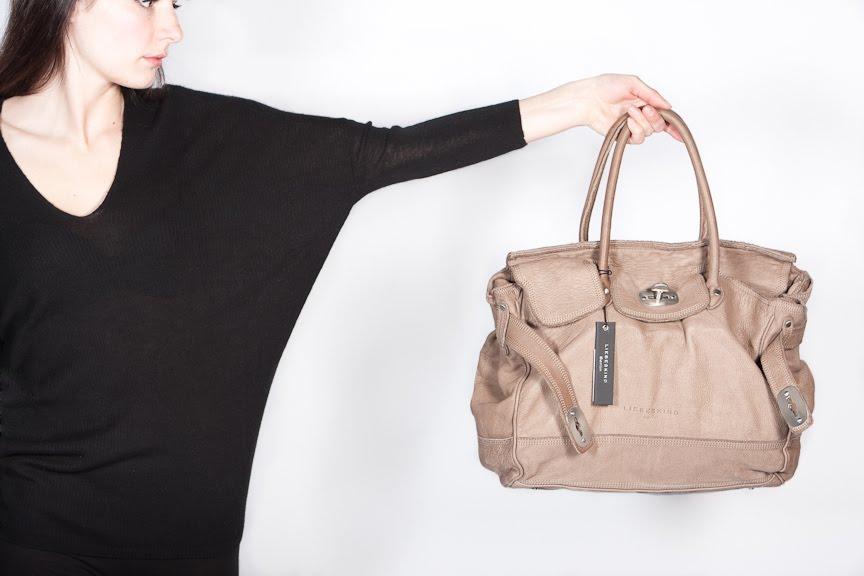 4fbd02193ed6 Soft leather handbags from Liebeskind-Berlin (grey