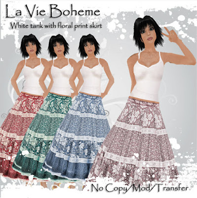 icing second life vintage inspired fashions by miko omegamu azure blooms la vie boheme and. Black Bedroom Furniture Sets. Home Design Ideas