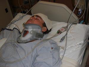 Tanner in ICU