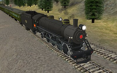 VR Blogger: L&N 152 Pacific for Trainz