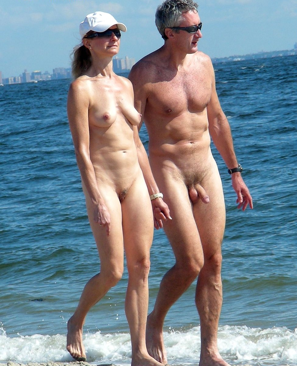 Erection in nudist camps #2