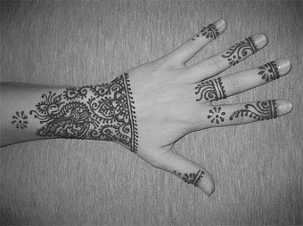indian style tattoos