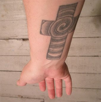Cross Tattoos On Forearm