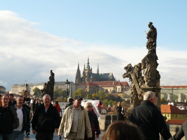 Charles Bridge and Praha Castle