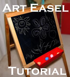 Make A Kid S Art Easel Lesson Plans