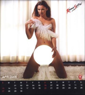 Maxim Kama Sutra calendar