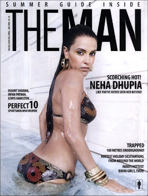 Neha Dhupia in bikini hot sexy pictures