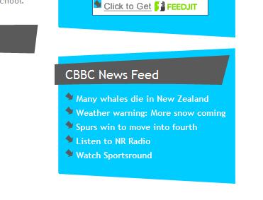 CBBC News wordpress plugin / widget – John McLear