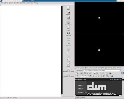 [a screenshot showing tray icons on vanilla DWM]