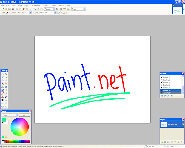 Paint Editing Software