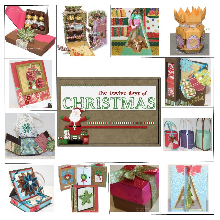 Gift Ideas For The 12 Days Of Christmas: 12 Days Of Handmade Christmas Gifts