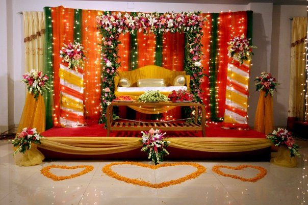 Bangladesh Design Wedding Stage