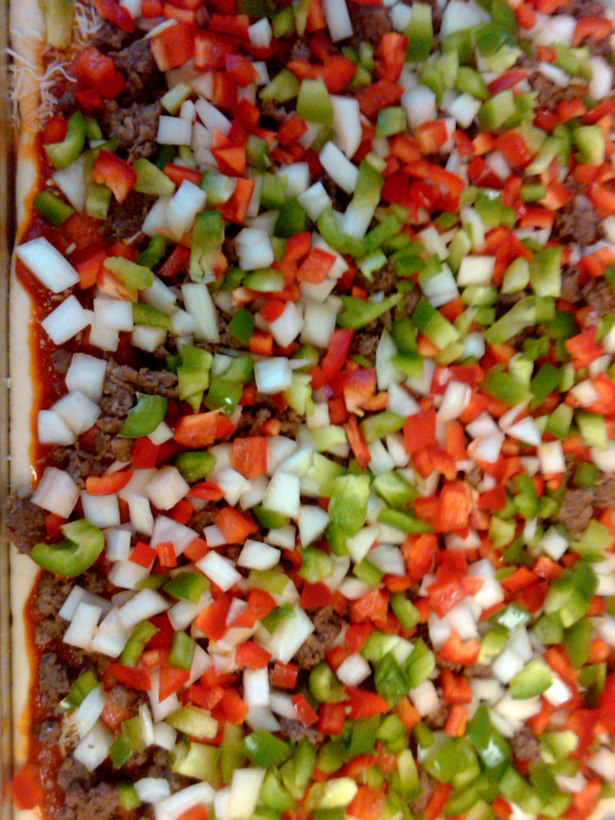 Bs Recipes Candy Corn M M Blondies: BS Recipes: Homemade Pizza