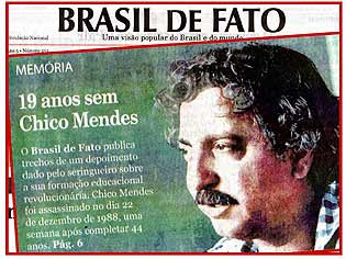 who killed chico mendes essay Environmental and animal activists injured or killed  chico mendes (brazil) 1988 - chico mendes, an environmental activist and union leader in brazil.