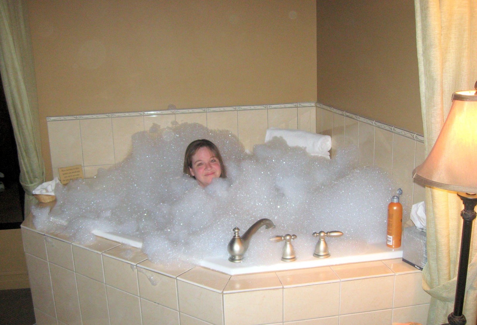 Down A Long Country Road N Is For Never Put Too Much Bubble Bath Into Jet Tub