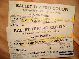 Las entradas del ballet &#9829