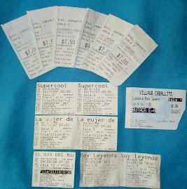 Casi todas las entradas de las pelis que fuimos a ver &#9829