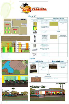Diseño Restaurantes 2009 Disco Terraza Tropical
