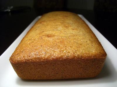 recettes dessert  un Financier géant à la Noisette et au beurre salé