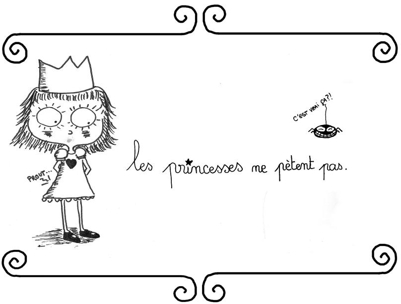 Les princesses ne petent pas