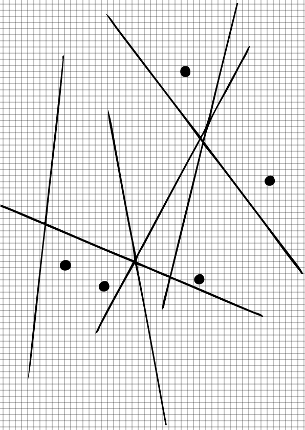 Goulding Gallery Numbered Coordinate Graph Paper