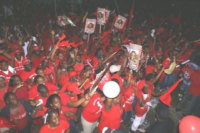 The Nature Island...: Dominica Labour Party Rally Grandbay ...