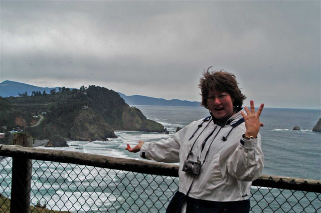 Me at the Oregon Coast