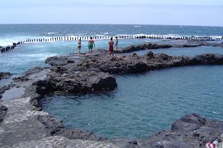 Rosa en gran canaria agaete piscinas naturales for Piscinas de agaete
