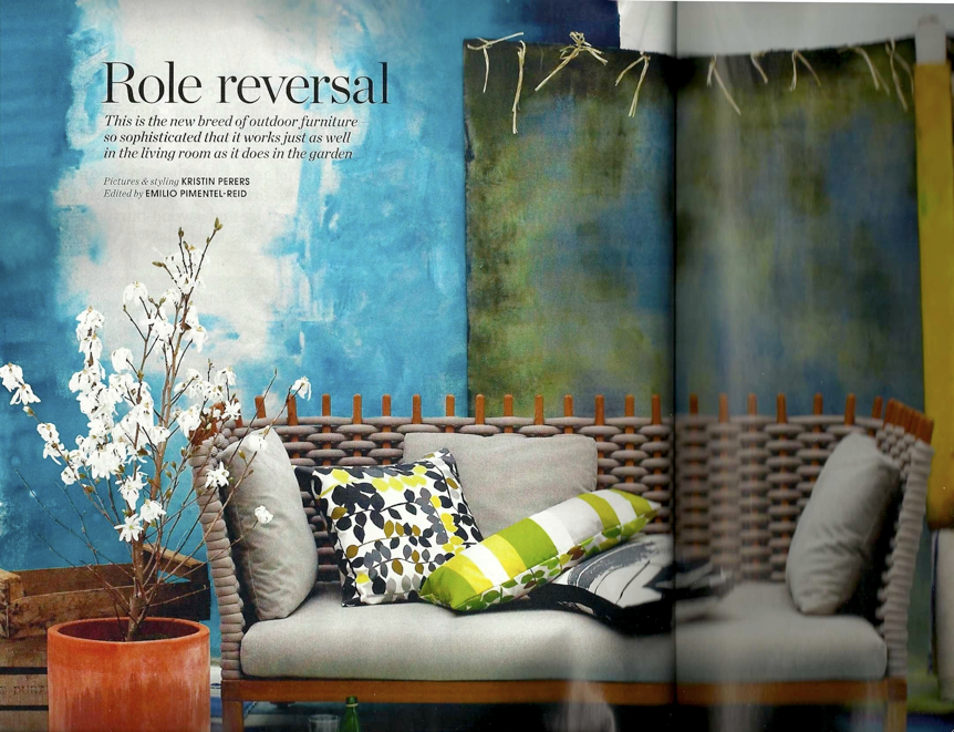 Bright Bazaar Magazine Review Elle Decoration June 2010