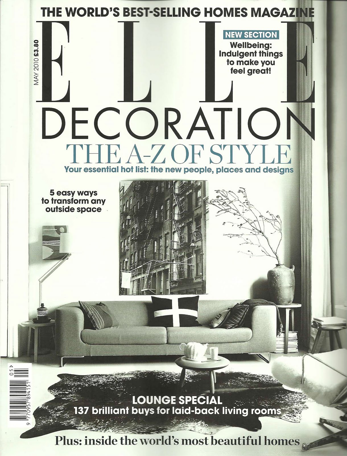 Magazine Review Elle Decoration May 2010 Bright