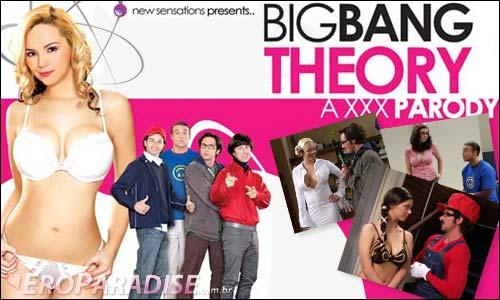 big bang theory cartoon