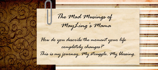 The Mad Musings of MayLing's Mama