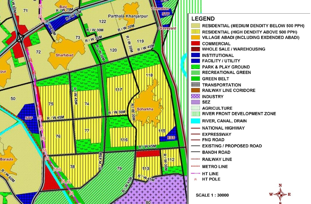 About Sector 70s of Noida: Sector 7X and Noida Master Plan 2031