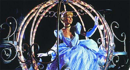 Yo en la carroza, Disneyland