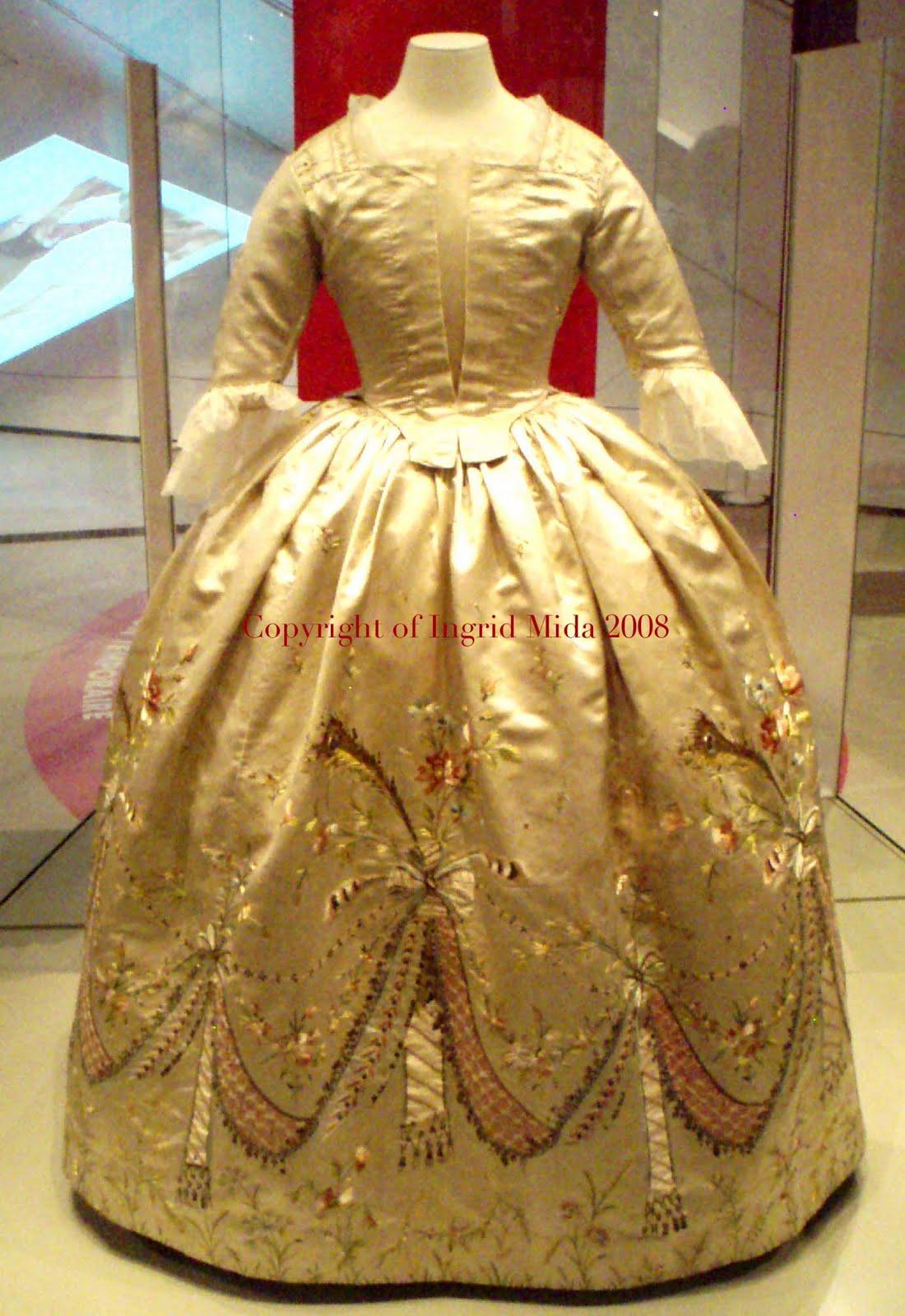 Robe de Marie-Antoinette