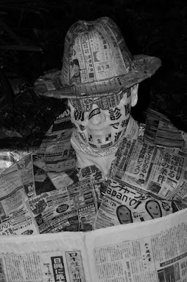 Creativity With Newspaper, the newspaper man