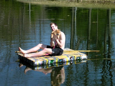 Soda Bottle Raft