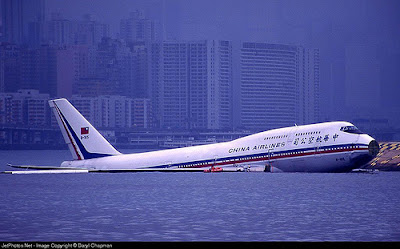 this Asian airliner landed in water