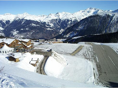 Courchevel Airport - Steepest runway (9) 7