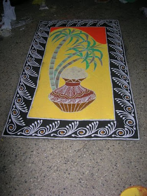 Colors Of India Rangoli
