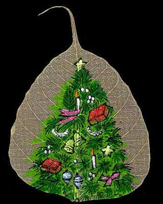 Beautiful Leaf Art (16) 3