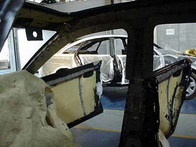Interior Kevlar protection