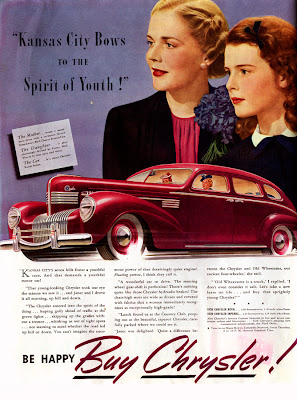 Interesting Vintage Advertisement of Chrysler