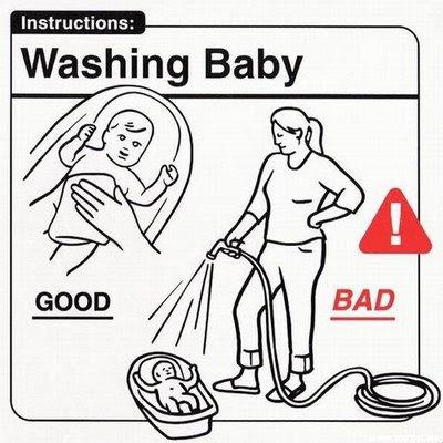 Baby Handling Instructions.