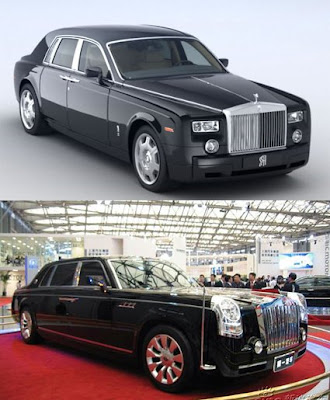 Rolls-Royce Phantom vs Hongqi HQD