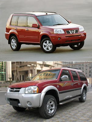 Nissan XTrail vs Greatwall Sing