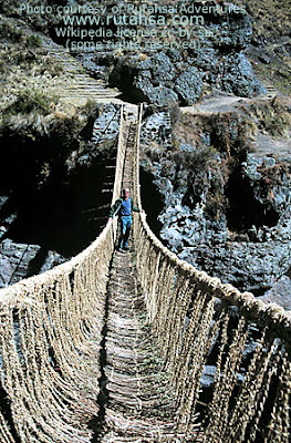 Inca rope bridges.(3) 1