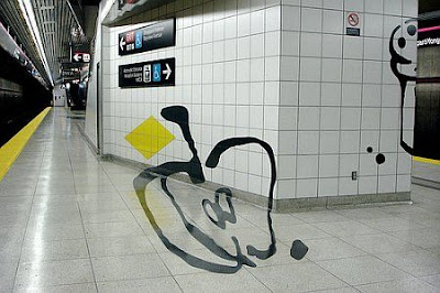Perspective Art At A Subway (11) 3