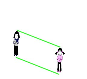Distance and Size Illusion two
